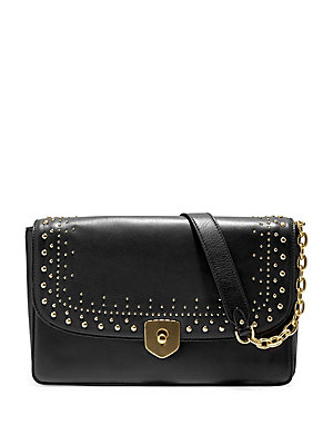 Studded Clutch Leather Cole Marli Black Haan xwpBU4qFE