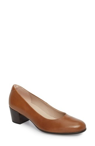 Ecco 'S Shape 35 Pump Cashmere Leather iKMrPt8