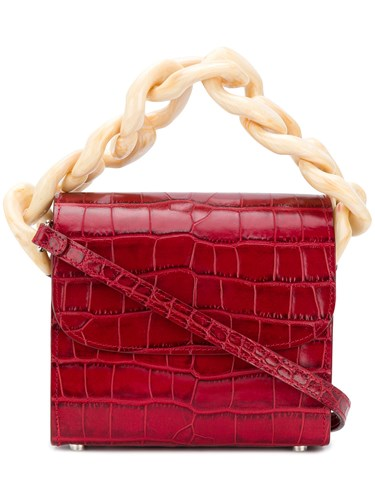 Marques Almeida Marques'almeida Chain Handle Shoulder Bag Red mG5Otl