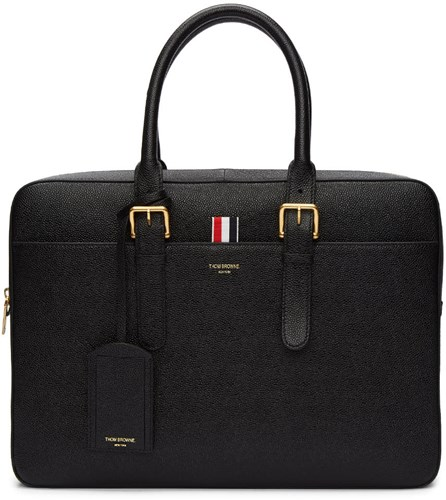 Thom Browne Black Business Briefcase AFEtW