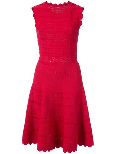 Yigal Azrouel Classic Swing Dress Red IAH327YAre