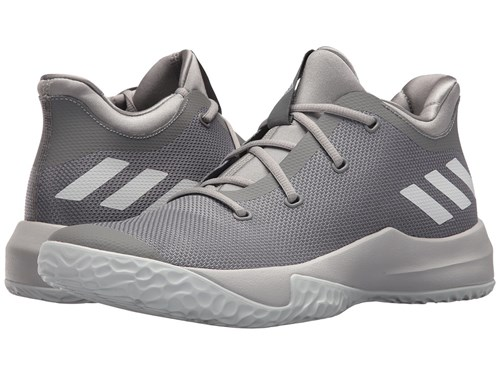 adidas Rise Up 2 Grey 3 White Solid Grey Lace Up Casual Shoes Gray JE84X