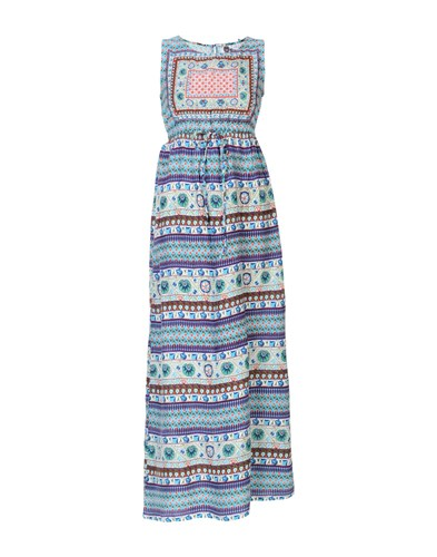 PEACE + LOVE by CALAO Long Dresses Turquoise XcP6d