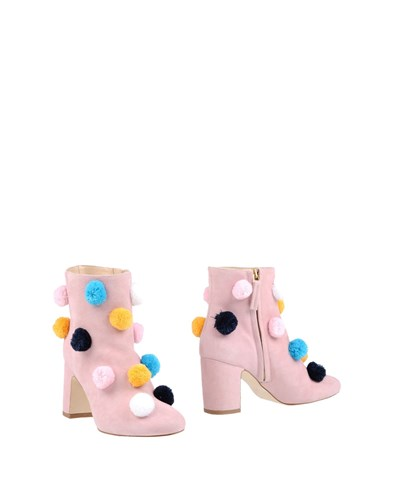 POLLY PLUME Ankle Boots Pink N9Uqg