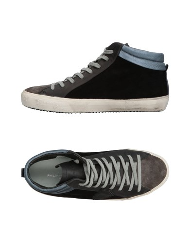 Philippe Model Sneakers Steel Grey oywHXzP