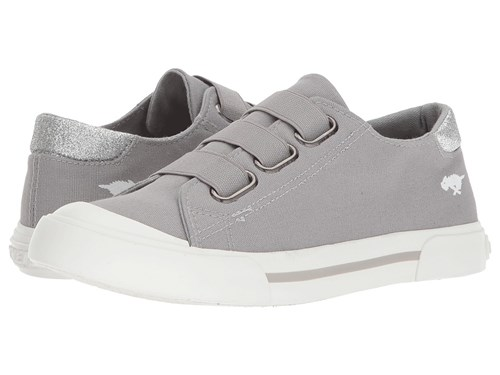 Rocket Dog Jamaica Grey 8A Canvas Star Dust Hook And Loop Shoes Gray xcjxN