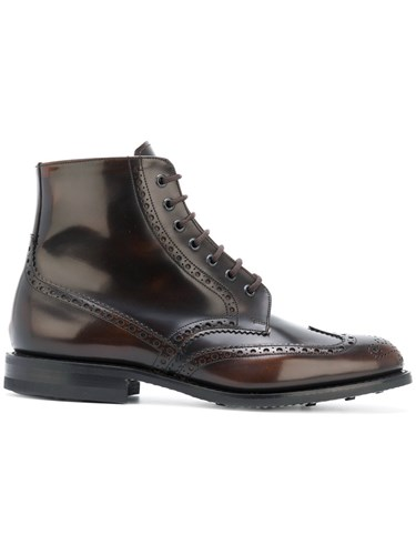 Church's Renwick Boots Calf Leather Leather Rubber Brown UUHd6q98