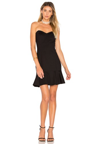 Amanda Uprichard Rocky Dress Black j2Tnswb