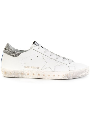 Golden Goose Deluxe Brand Superstar Sneakers Leather Rubber White ILaOH2U