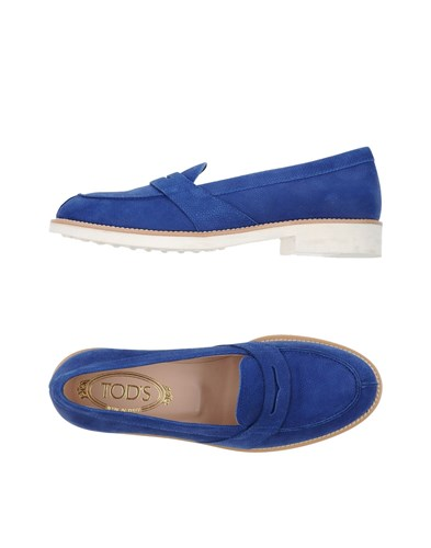 Tod's Loafers Dark Blue 6xBB6g