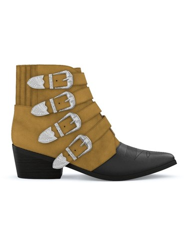 Toga Pulla Aj006 Boots Leather Suede 3pO81fkYAh