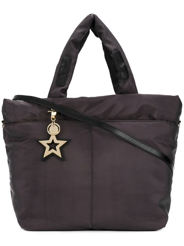 See by Chloe Star Charm Tote Bag Women Polyester One Size Black nvmhlLhjc