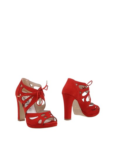 JIUDIT Firenze Sandals Red TobZU