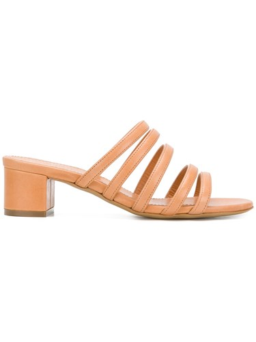 Mansur Gavriel Strappy Sandals Nude And Neutrals 1VhwhIL