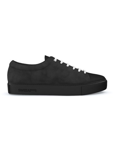 Swear Vyner Sneakers Calf Leather Nappa Leather Suede Rubber Black Quyp0u