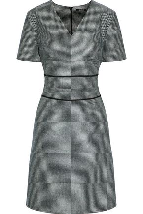 Raoul Houndstooth Knitted Dress Multicolor FDzzVwPz
