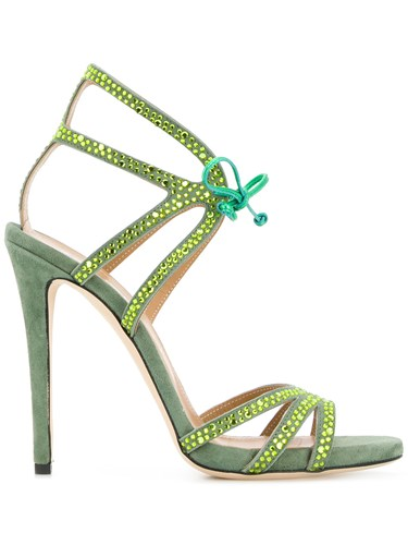 Sandals Heel Green Marc Ellis High q4OYSX