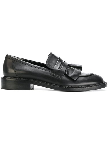 Robert Clergerie Joux Loafers Women Leather 37 Black Zy6lsdkQ