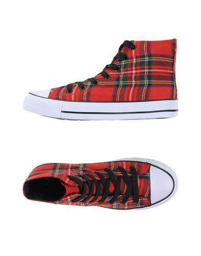 ENGYE Sneakers Red WfX4kL