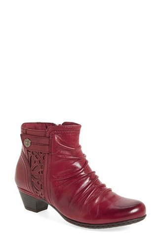 Rockport Cobb Hill Women's 'Abilene' Bootie Bordeaux Leather 1ZOxN