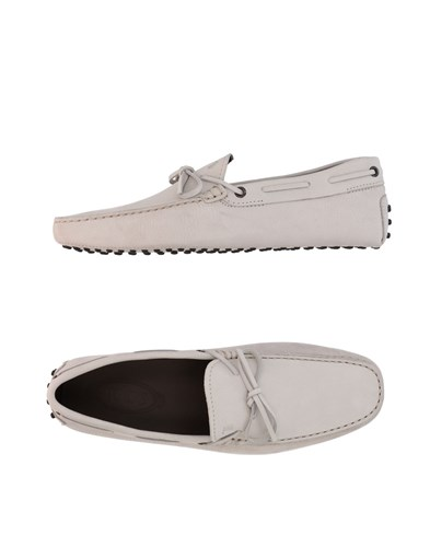 Tod's Loafers Light Grey Cixaz
