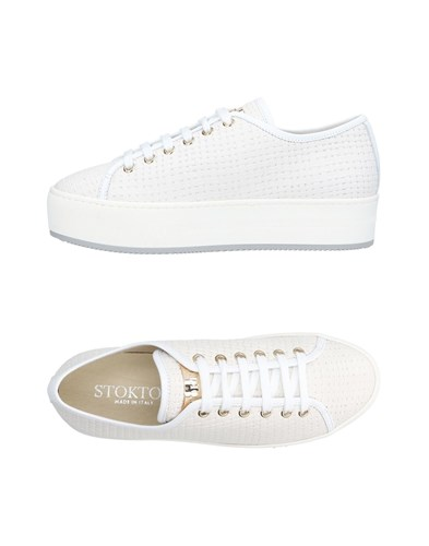 Stokton Sneakers White VS2euH