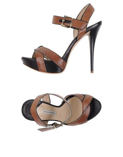 Gianni Marra Sandals Cocoa hCOtMxwD