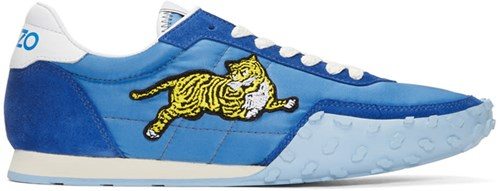 Kenzo Blue Move Sneakers cRSYS52Knv