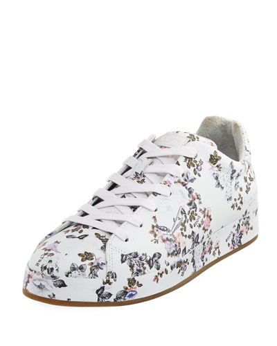 Rag and Bone Floral Print Leather Sneaker Garden Floral aBipXrGG0