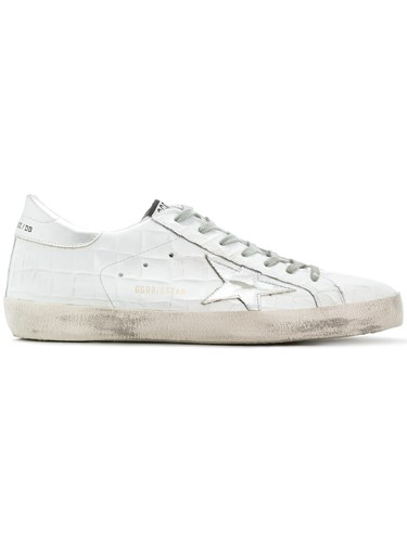 Golden Goose Deluxe Brand Superstar Sneakers Leather Rubber White tBMaH