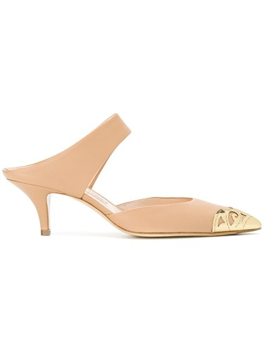 Roberto Festa Toe Embellished Mules Nude And Neutrals G1MTsF