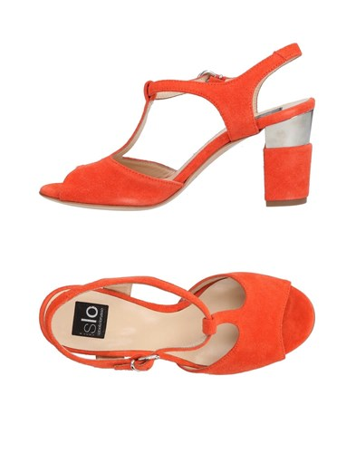Islo Isabella Lorusso Sandals Orange QHwHd1T