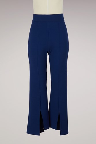 Flared Trousers 4200 Royal Sapphire Blue