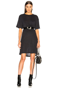 Acne Studios Saga Dress In Black AoJCW