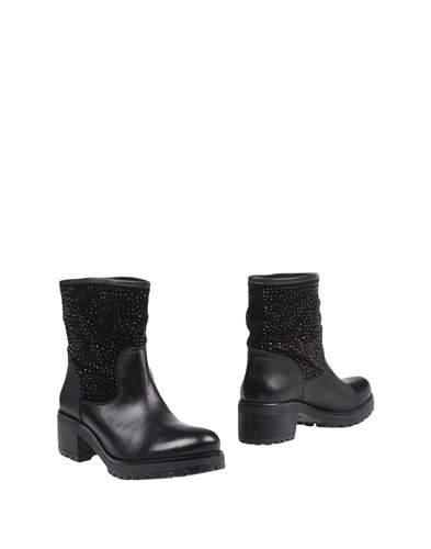 BRAWN'S Ankle Boots Black 7ztL9