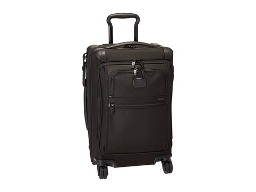 Tumi Alpha 2 Front Lid International Carry On Black Carry On Luggage b1EhN56XS7