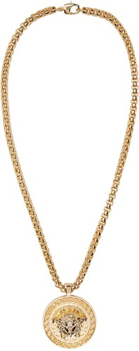 Gold Medusa Chain Necklace
