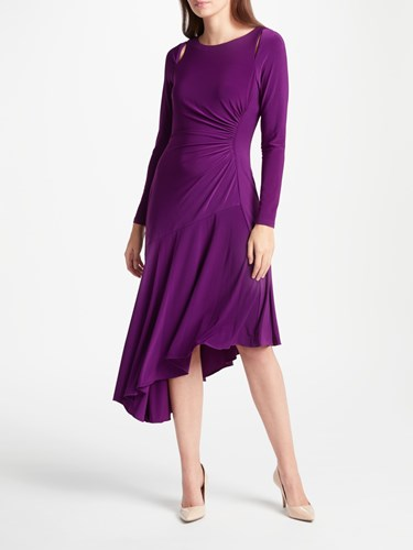Ralph Lauren Sotto Dress Haddon Violet WK4f6r6hvM