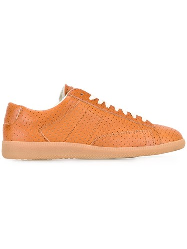 Maison Martin Margiela Perforated Sneakers Brown KR4rb6VzN