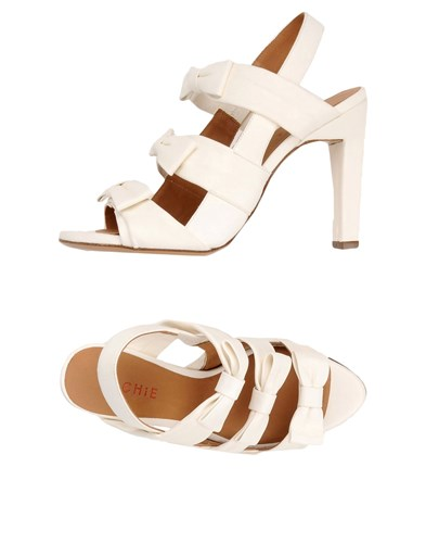 CHIE by CHIE MIHARA Sandals White CX1T7X