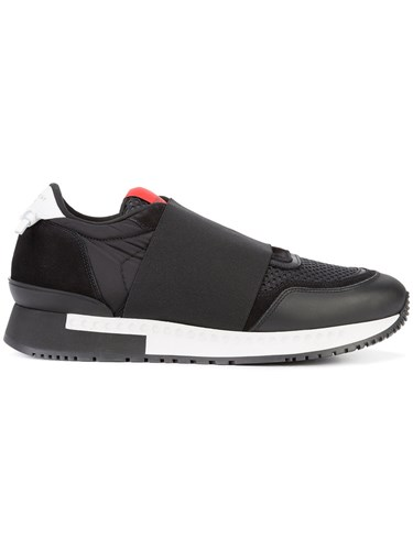 Givenchy Runner Elastic Trainers Black qF4AGXz