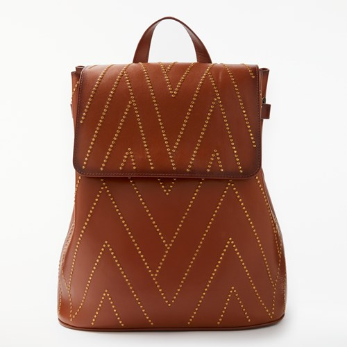 AND Leather Tan Backpack OR Isabella Stud SwrnxE8vrq