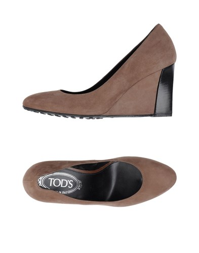 Tod's Pumps Camel MVFge83