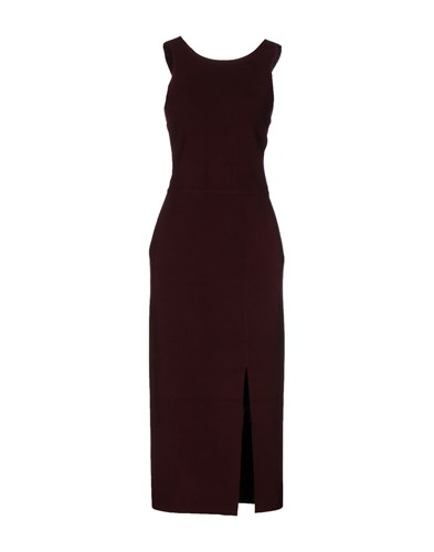 Elizabeth and James 3 4 Length Dresses Deep Purple 40Fiir9