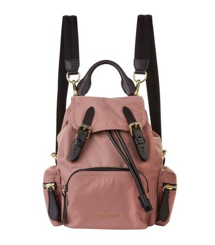 Burberry Small Buckled Backpack Pink xyL86gVK