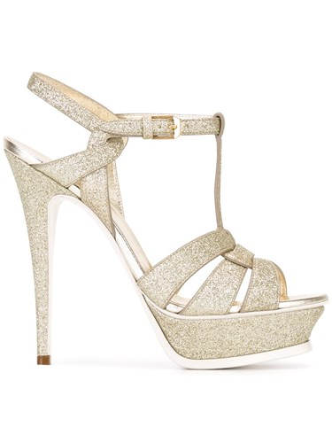Saint Tribute Metallic 'Classic Laurent Sandals 105' RqxwOREHFr