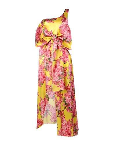 Leitmotiv Long Dresses Yellow XceMjrYde