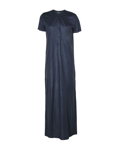 Majestic Filatures Long Dresses Dark Blue XMf4kdti2D