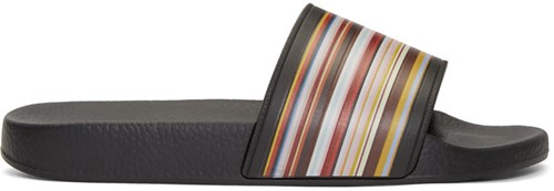 Paul Smith Multicolor Multistripe Slides dxgWtRk5k