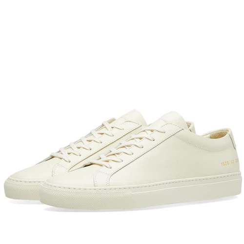 Common Projects Original Achilles Low Yellow I5K2oua